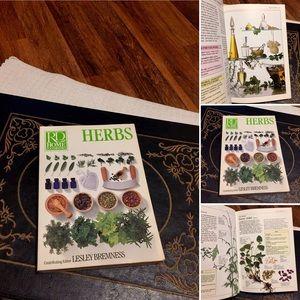 🦋2/$10 3/$15 4/$18 5/$20 Vintage Herb 🌿 Book